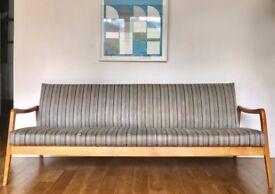Vintage Retro Danish Style Sofa Bed #426