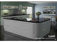 £795.00 brand new kitchen package built up cabinets