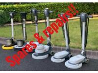 Numatic Job Lot 8 Spares&Repairs 110v/240vFloor Buffer Cleaning Machine
