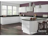 Handleless kitchen offer £1395.00 Including appliances brand new