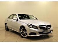 MERCEDES-BENZ E CLASS 2.1 E220 CDI SE 4d AUTO 168 BHP + 2 PREV OWNER FROM NEW (silver) 2013