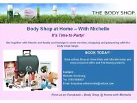 Body Shop at Home Parties With Michelle