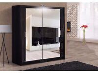  ^  ^  Unbeatable price for the German 2 door fully mirrored sliding wardrobe  ^   ^ 