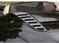 Genuine Audi R8 Spyder V8 & V10 Rear Engine Vents *low miles