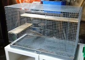 Large Degu /Chinchilla cage for sale (used).