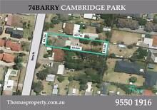 ZONED R3 WITH PRE D.A PLANS Cambridge Park Penrith Area Preview