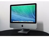 "iMac 20"" Intel Core 2 Duo @ 2.00 Ghz 4GB DDR2 80GB HHD Ati Radeon HD, OS X Mavericks 10.9.5"