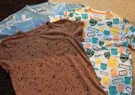 Short sleeve t-short bundle - boys age 10-11