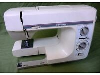 Modern Electric Sewing Machine Toyota 4031 Excellent condition fully serviced