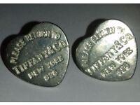 'Return to Tiffany' heart earrings.