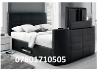 BED JANUARY SALE TV BED AND ELECTRIC BED WITH STORAGE AND MATTRESS