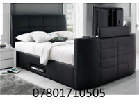 BED BRAND NEW ELECTRIC TV BED AND STORAGE 82096