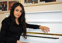 Piano Teacher and Accompanist in Toronto. Piano Lessons for all.