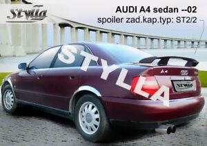 SPOILER REAR BOOT AUDI A4 WING ACCESSORIES