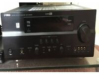 Yamaha DSP-AX863SE HDMI AV 6.1 amplifer with remote and setup microphone