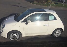 Fiat 500 lounge - good condition and fantastic car!