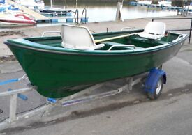FISHING DINGHY - DELIVERED TO YOUR DOOR - FULL WARRANTY - TOP QUALITY