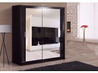 GET IT ON CHEAPEST PRICE!!! 2 DOOR SLIDING WHITE WARDROBE AVAILABLE IN DIFFERENT SIZES AND PRICES