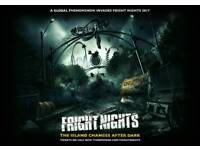 Fright night tickets x 3. For Sunday 1st of October