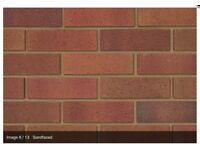 Ibstock tradesmen red (multi) bricks 400 bricks per pack (5 packs available)