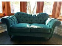 Victorian style 3 & 2 seater sofas & a large arm-chair for sale. Under 2 years old, great condition