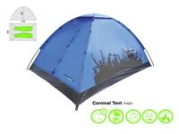 Yellowstone Carnival 2 Person Tent Hiking Festival Camping Green Blue 8 AVAILABLE