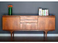 Stylish Vintage Midcentury Meredew teak sideboard / dresser. Delivery. Modern / Retro / Danish style
