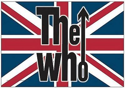 The Who Cloth Fabric Poster Union Jack Flag, 30x40 Tapestry