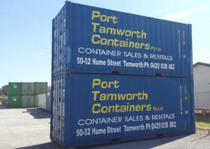 Shipping Container Hire from $4.35 inc GST Per Day - Tamworth Taminda Tamworth City Preview