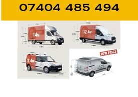 CHEAP MAN & LUTON VAN HIRE HOUSE/ OFFICE REMOVALS SERVICE PIANO MOVERS BIKE RECOVERY FLAT MOVING