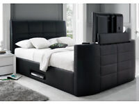 BED BRAND NEW TV BED WITH GAS LIFT STORAGE Fast DELIVERY 364BDEDUBCDU