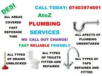 A-Z EMERGENCY / GENERAL PLUMBING SERVICES < NO CALL OUT CHARGE! > < AFFORDABLE PRICES!>