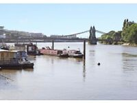 Residential Moorings For Sale on the Thames, Hammersmith, London
