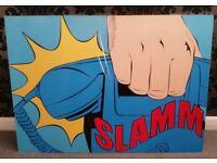 """Pop Art """"Slamm!"""" Wall Print - IKEA"""