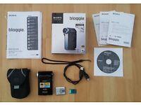 Sony Bloggie HD Pocket Camcorder and Digital camera