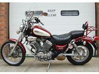 1999 YAMAHA XV535 DX RED VIRAGO 535