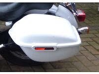 Harley Davidson Sportster Hard Sports Locking Panniers