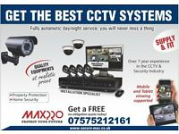 6 x CCTV Dome/Bullet Cameras, 8 Channels DVR, 2TB Hard Drive (Full HD System)