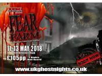 Fear Farm Fright weekend