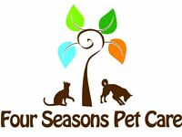 Dog Walking/Half Day Care/Pet Feeding - Four Seasons Pet Care