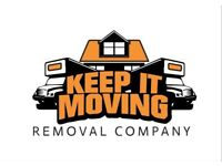Keep It Moving! - Van & Man Removal Services, House Clearance, Student Moves - Reliable Luton Vans