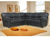 THE LILY ITALIAN STYLE 2 C 2 SOFA IN HIGH QUALITY PU BRAND NEW PACKED £340 PLUS FREE DELIVERY