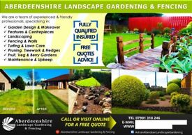 Dedicated Gardener Aberdeen & Shire