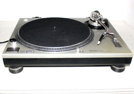 Technics Silver SL1200 MK 2 Turntable