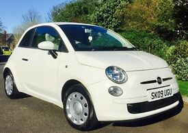 White Fiat 500 great conditions - different from the rest!