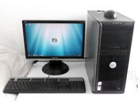 Gaming PC + 10 Games + 1GB Nvidia (i5, Quad, GTA IV, Monitor, K/M) All In One, Desktop PC, Computer