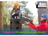 Volunteer with Buckstone Scout Group