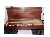 John Morley 4 Octave Clavichord No.2049 Mahogany c1970