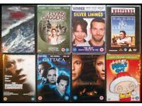 8 New DVDs: Assorted Feature Films (no.4)