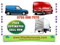 CHEAP VAN & MAN HOUSE/ OFFICE STUDENT REMOVAL SERVICE PIANO MOVERS BIKE FLAT MOVING LUTON TRUCK HIRE